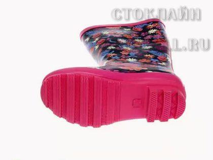 Детские резиновые сапоги по низким ценам в магазине Калуги