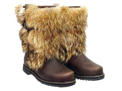 Монголки мужские короткие, натуральный койот