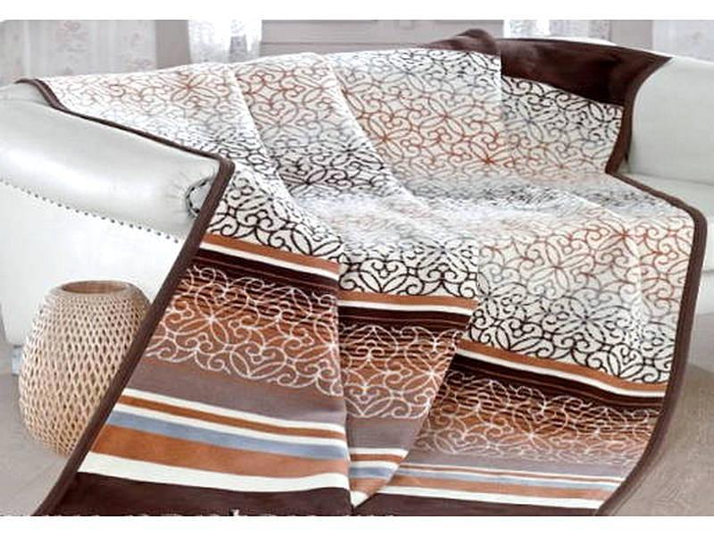 Блюз коричневый 150x200&180&220&200x220